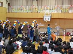 6年生にメッセージを贈る会(2月18日)